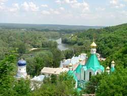 Святогорская Свято-Успенская обитель.