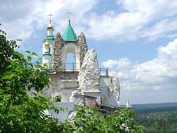 Святогорская Свято-Успенская обитель, Андреевская часовня. Во имя Андрея Первозванного.